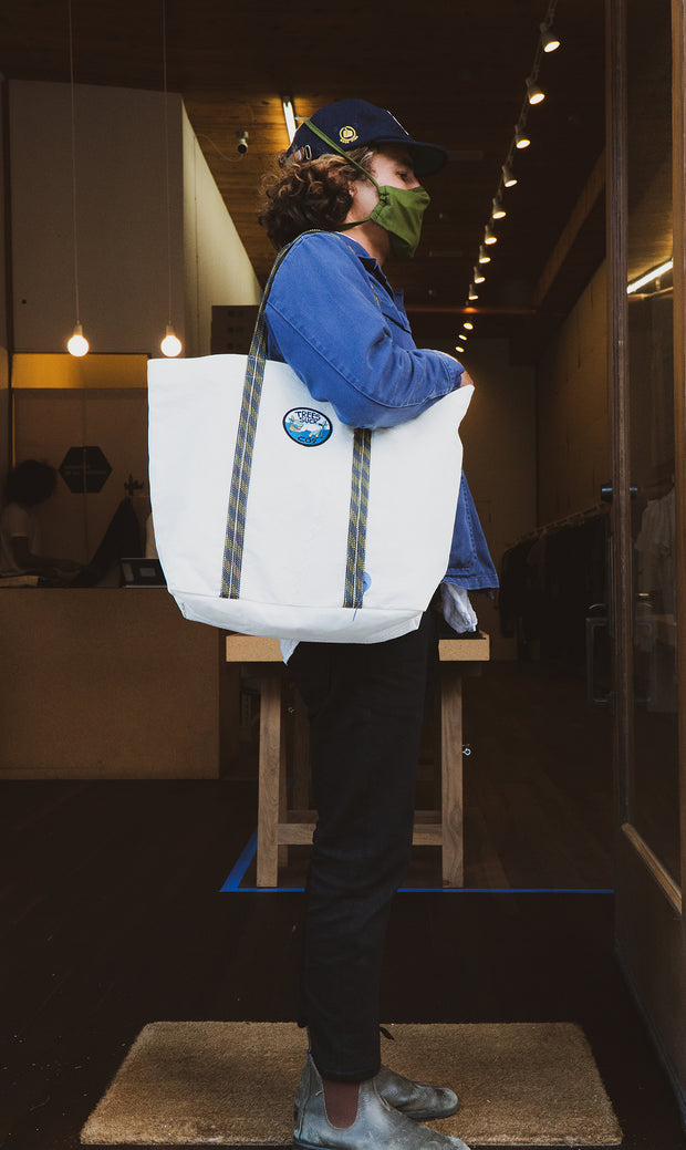 Yusuke Hanai - SeaTrees Suck Tote (made-to-order by MAFIA)