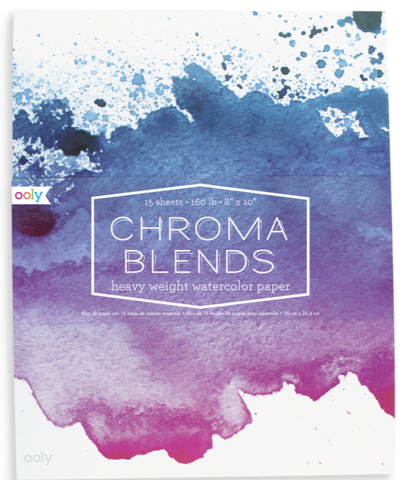 Chroma Blends Heavy Weight Watercolor Paper