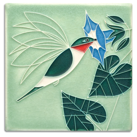 Little Sipper Hummingbird Tile