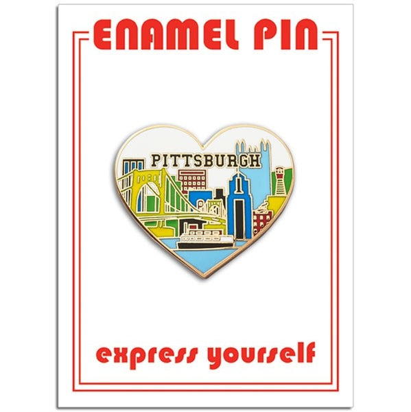 Pittsburgh Heart Pin