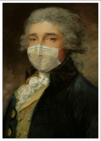 Masked Image Postcard Gainsborough