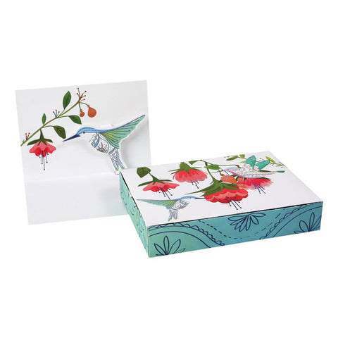 Hummingbird Pop Up Cards Boxed Set