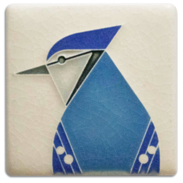 Blue Jay Mini Tile