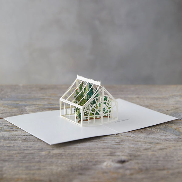 Greenhouse Pop-Up Card