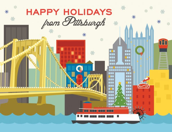 Pittsburgh Holiday Card