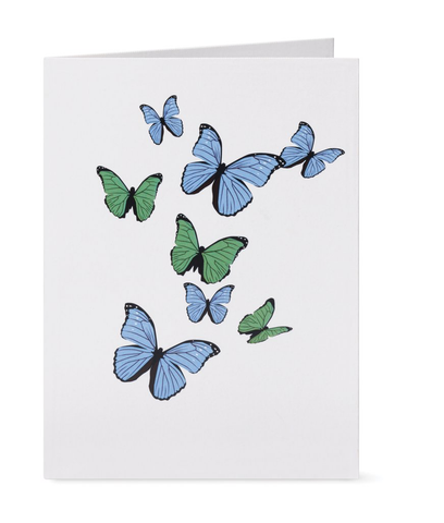 Butterflies Pop Up Note Card Set