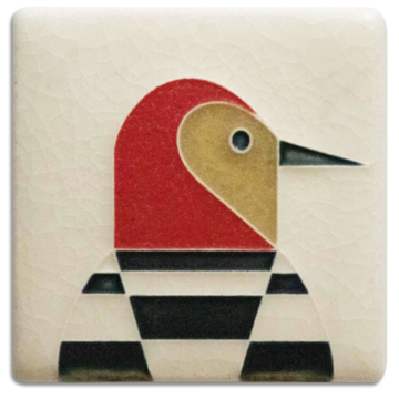 Woodpecker Mini Tile