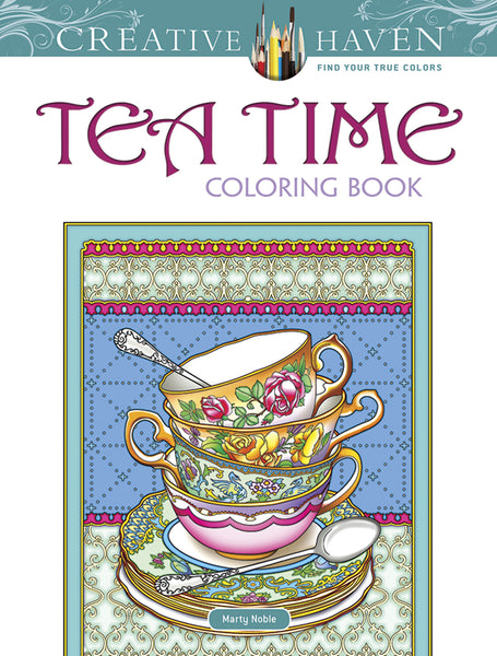Tea Time Coloring Book