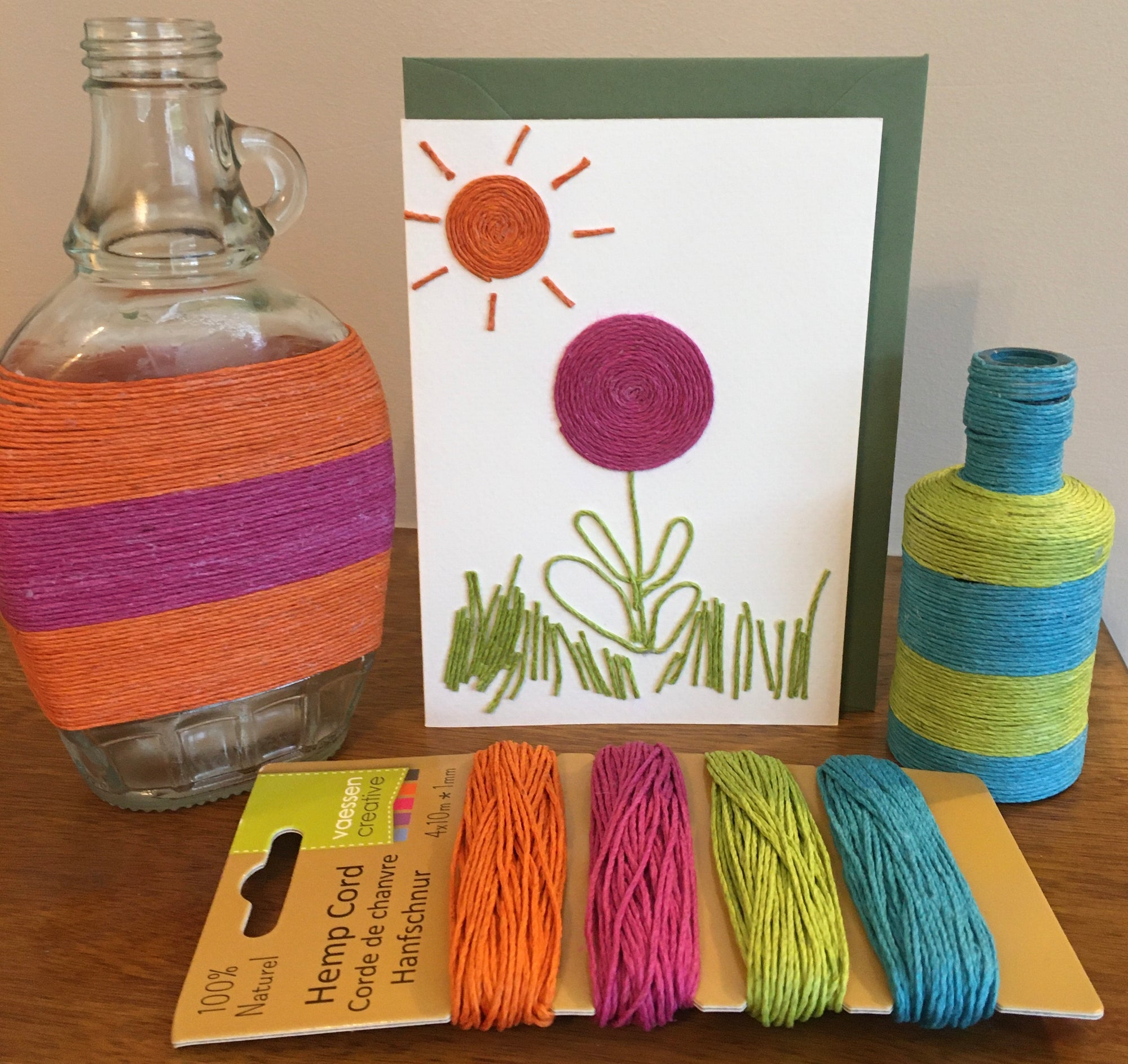 Use hemp cord for crafting ideas
