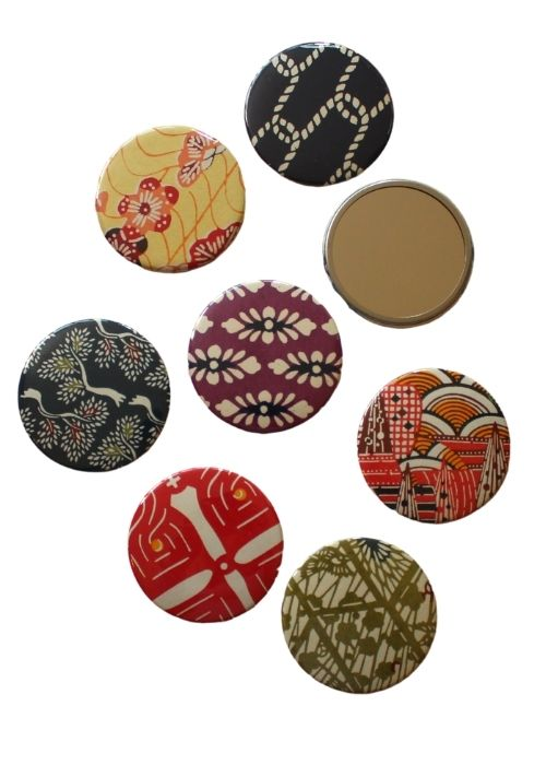 Chiyogami Hand Bag Mirrors - Liberties Papers