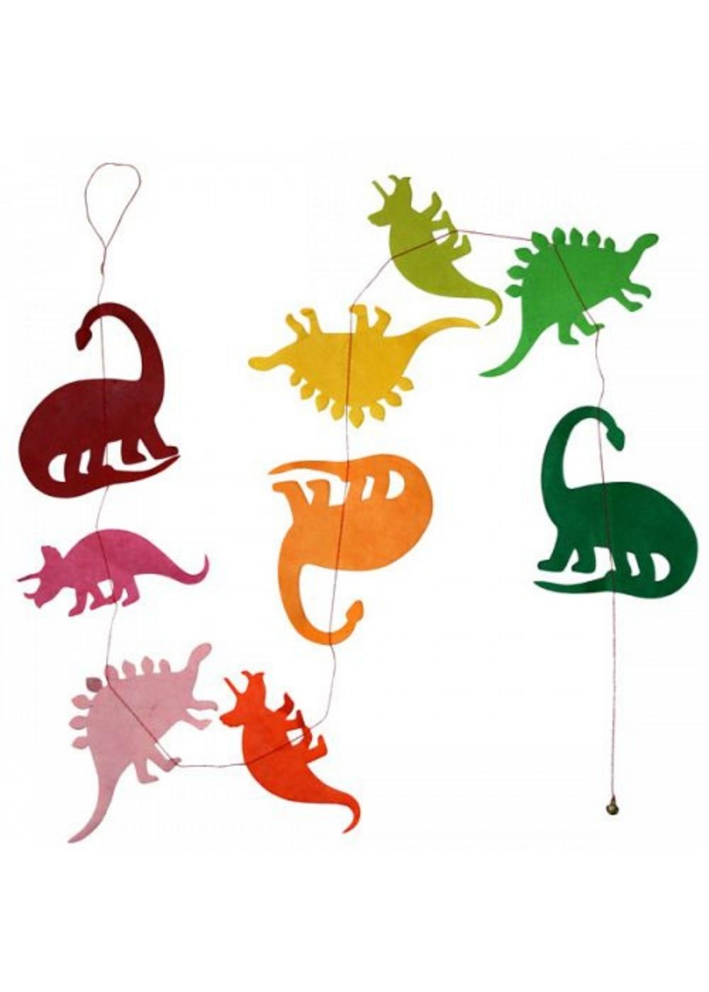 Hanging Garland Dinosaurs - Liberties Papers