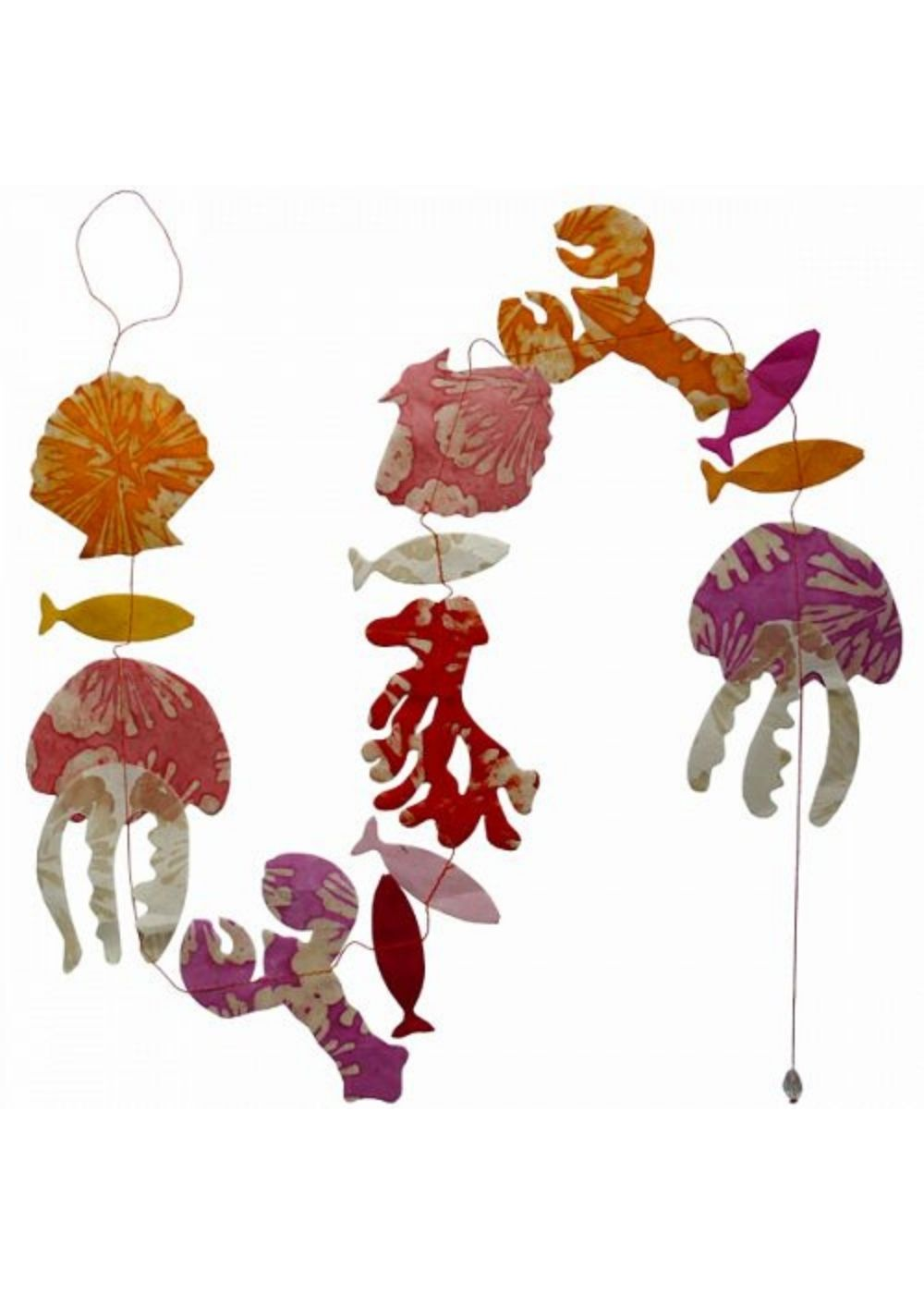 Hanging Garland Sea Life - Liberties Papers