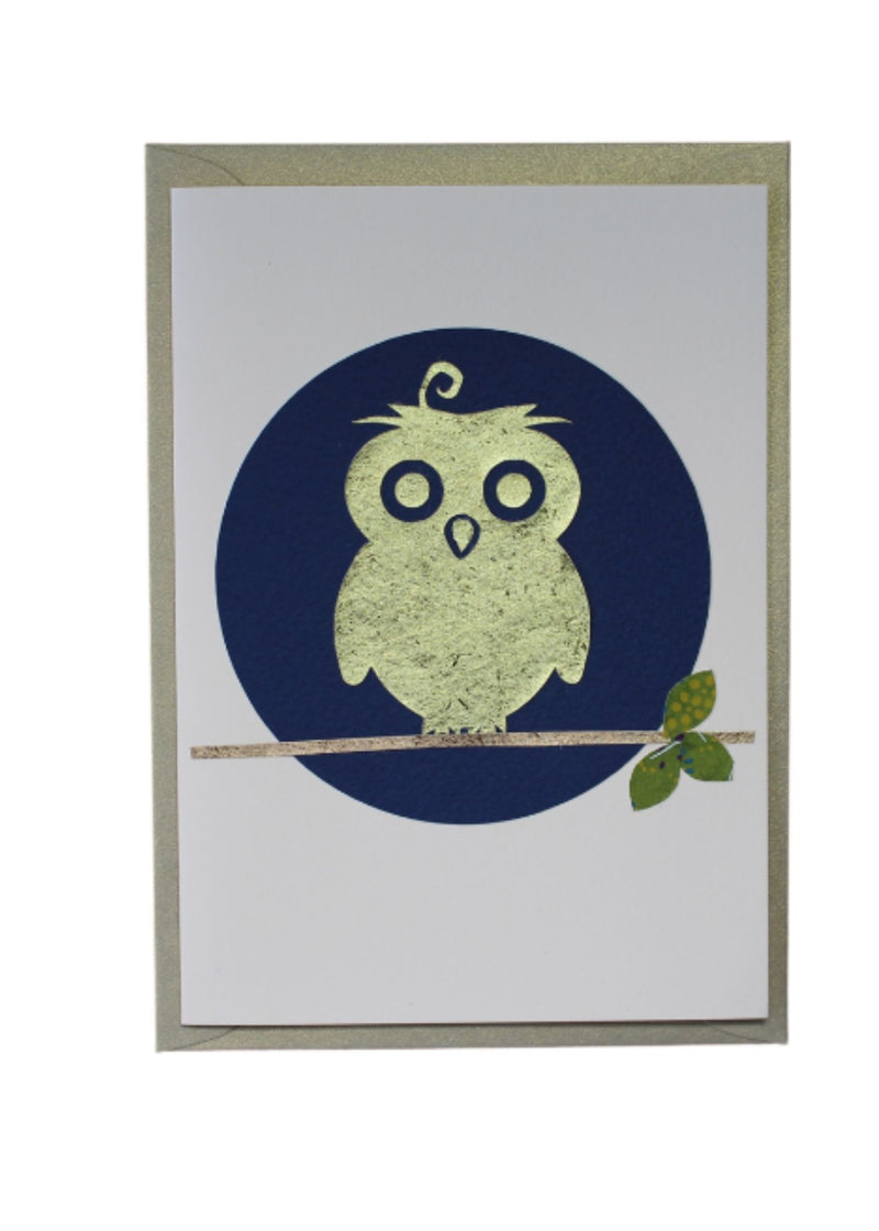 Greeting Card Owl - Liberties Papers