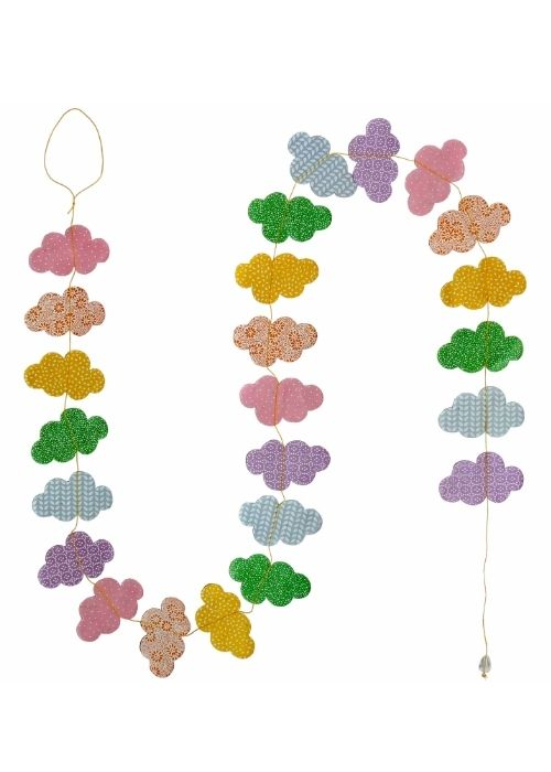 Hanging Garland Clouds - Liberties Papers