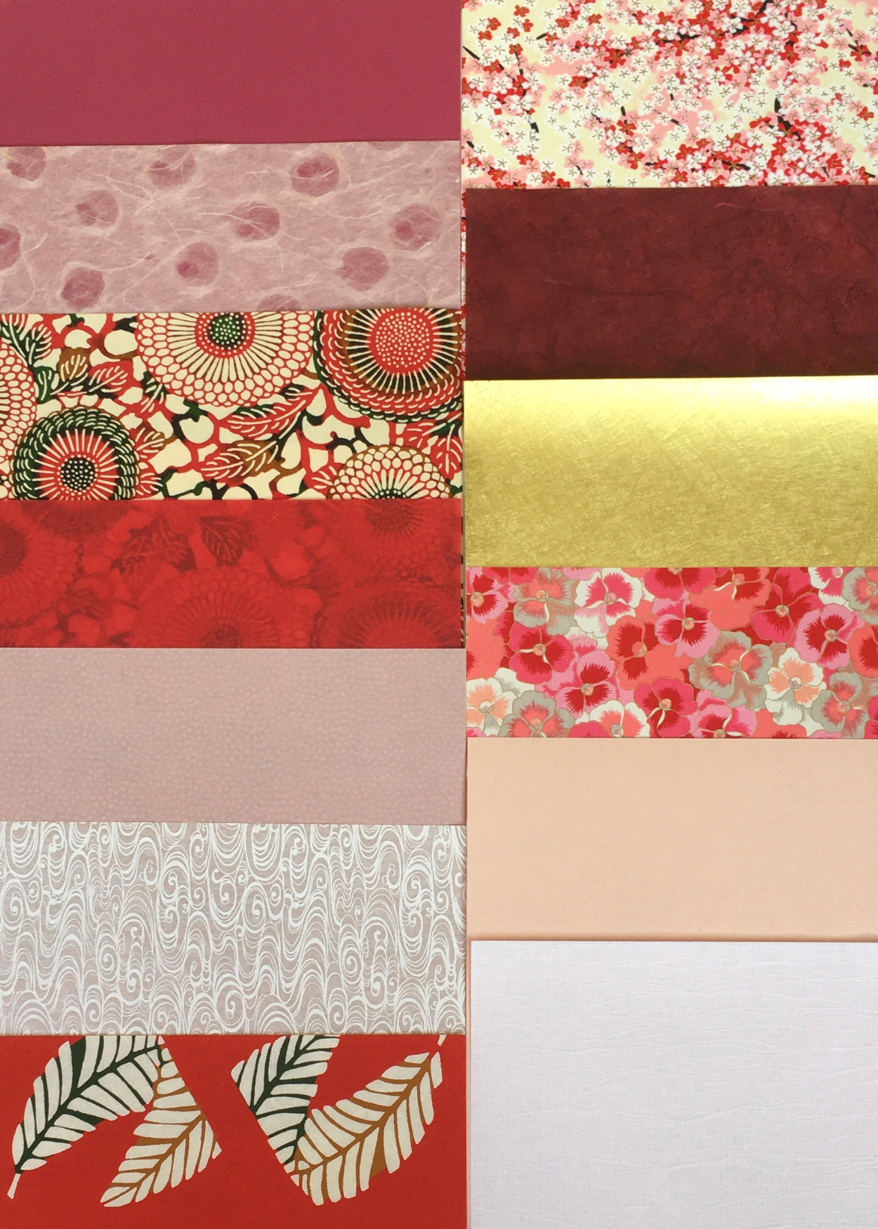 Decorative Papers Selection Pack - Red - Liberties Papers