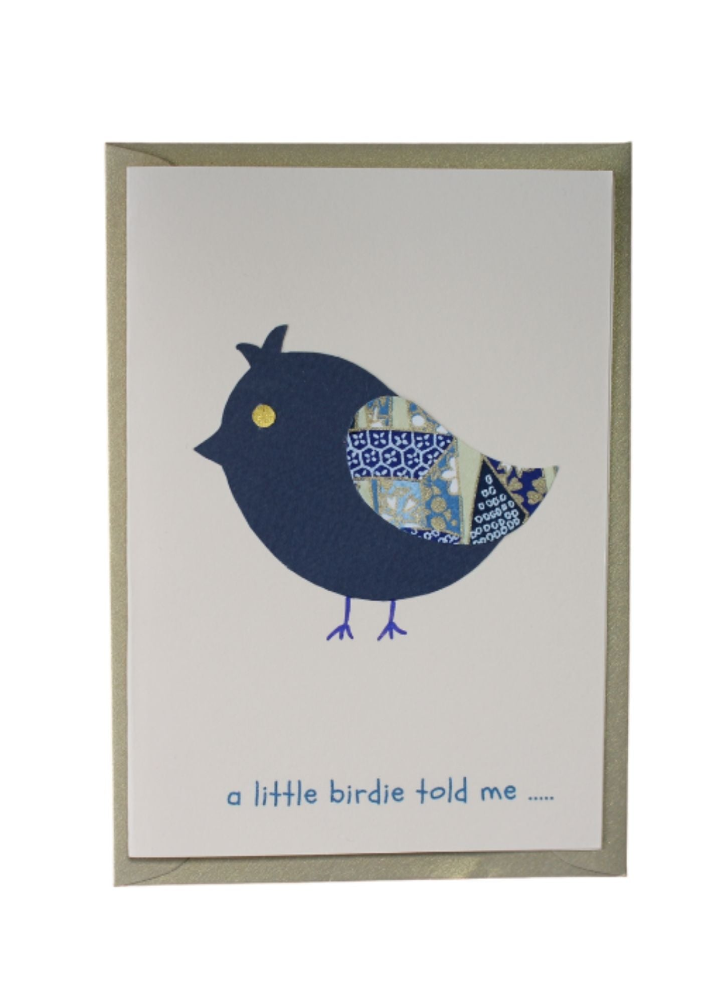 Greeting Card Little Birdie - Liberties Papers