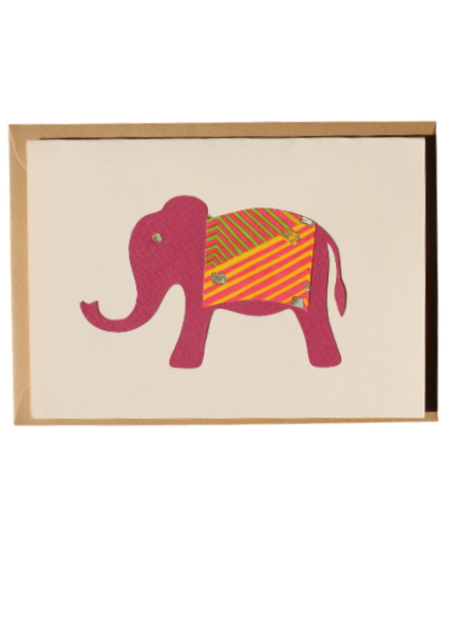 Greeting Card Elephant - Liberties Papers