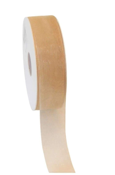 Organza Ribbon Beige - Liberties Papers