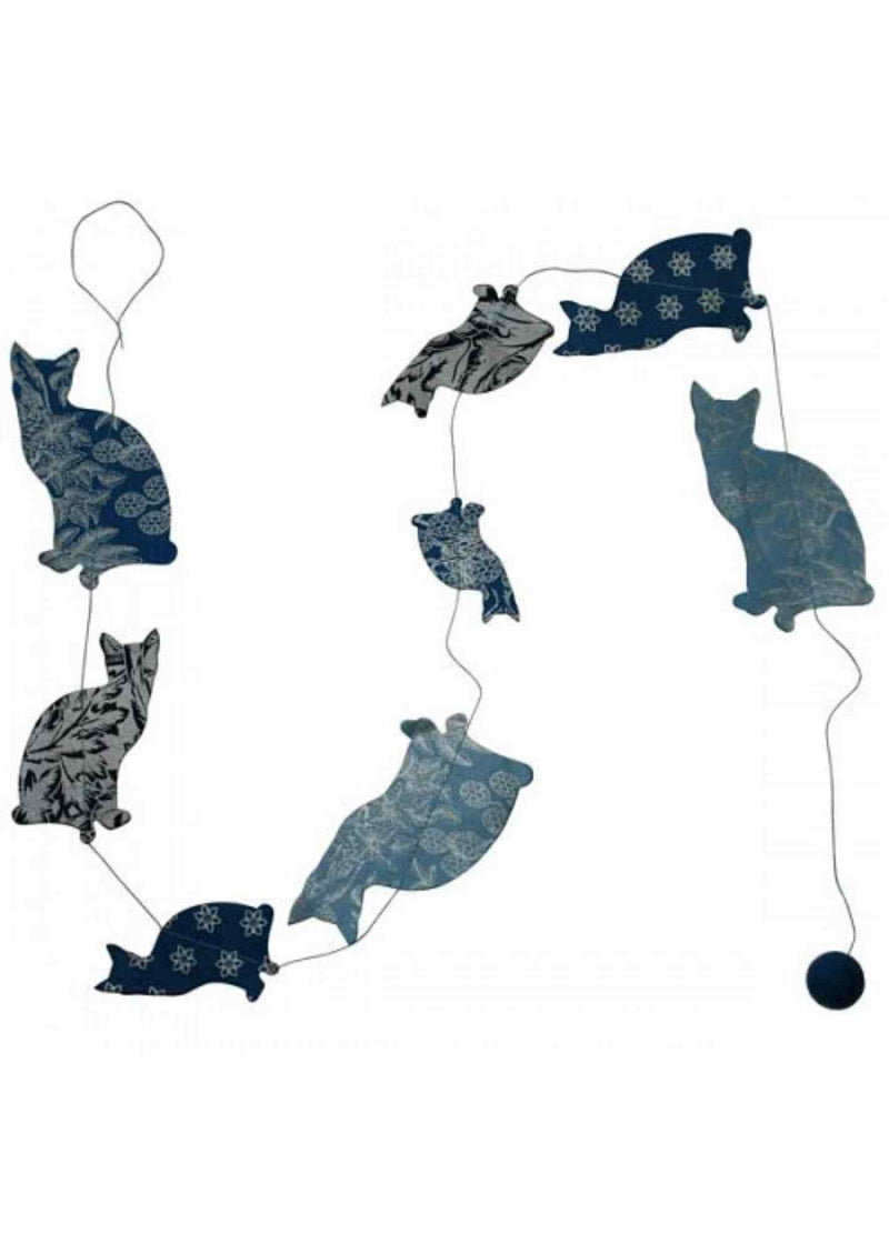 Hanging Garland Cats - Liberties Papers