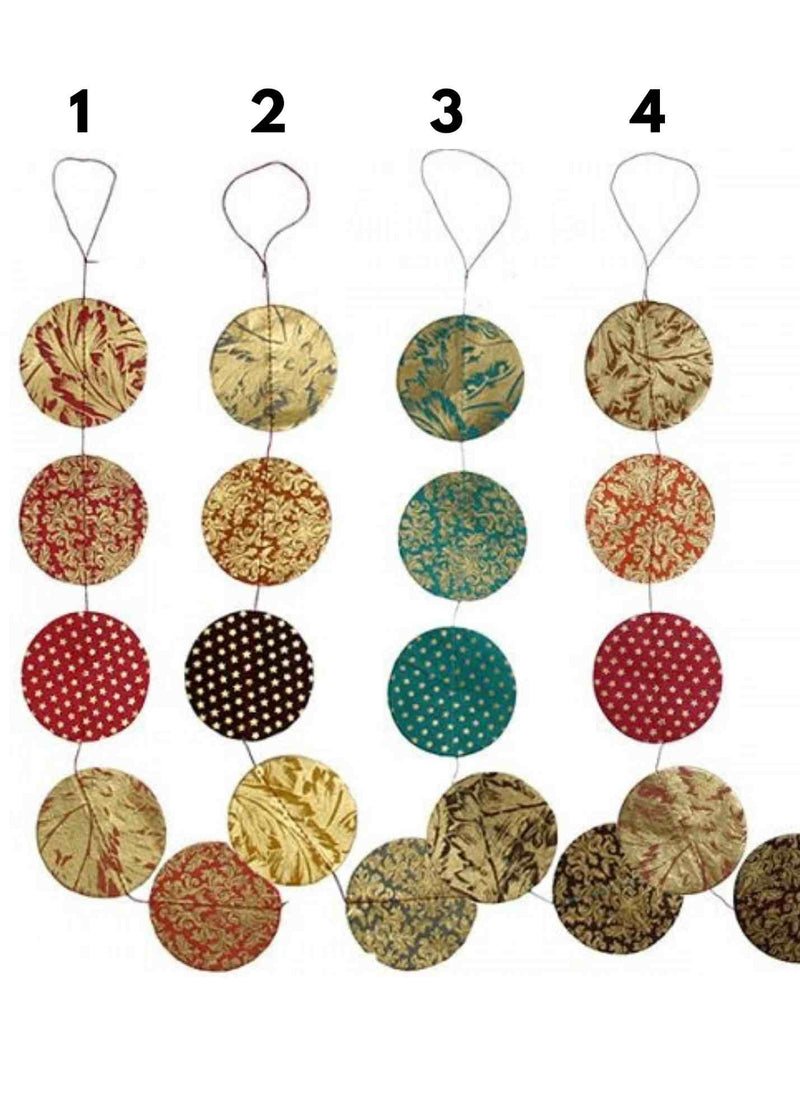 Hanging Garland Discs - Liberties Papers