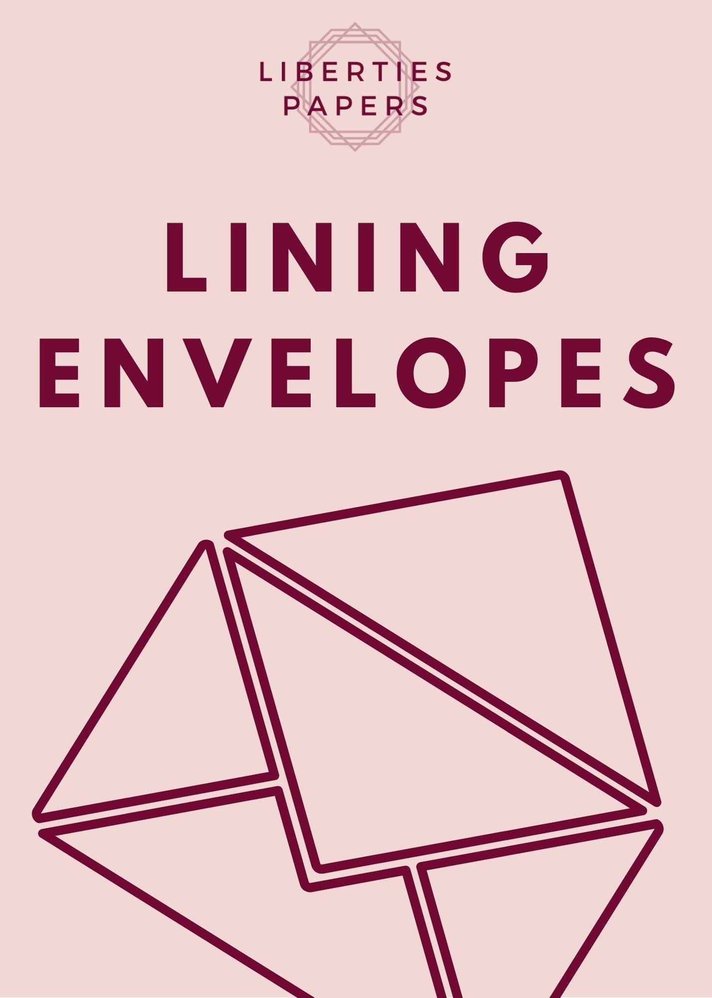 Envelope Lining Service - Liberties Papers