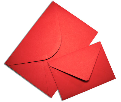 Colorplan Bright Red Envelope - Liberties Papers