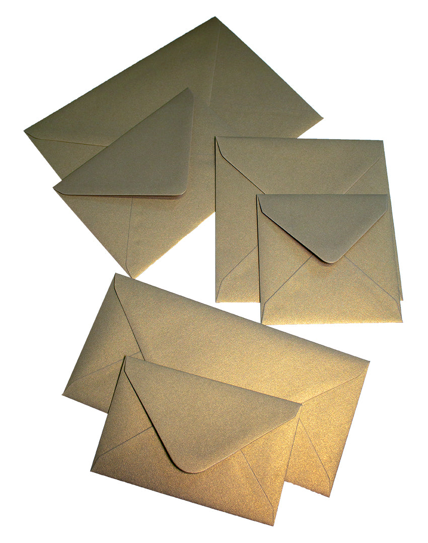 Curious Envelope - Gold Leaf - Liberties Papers