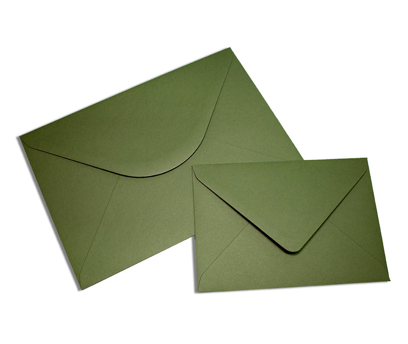 Colorplan Mid Green Envelope - Liberties Papers