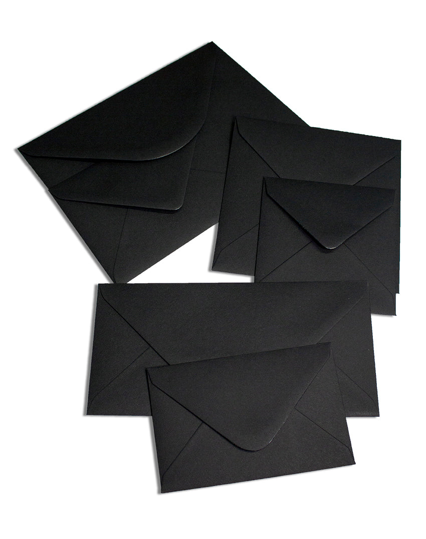 Colorplan Black Ebony Envelope - Liberties Papers