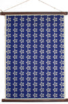 Indigo Flower Wall Hanging - Liberties Papers