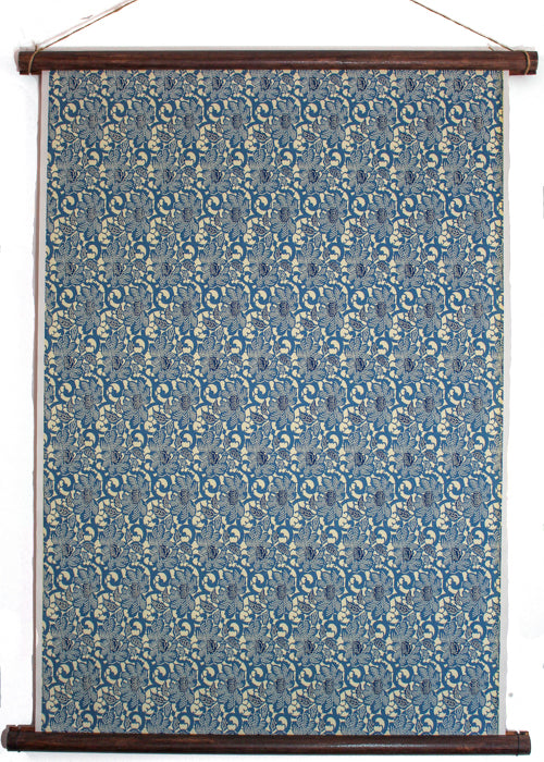 Blue Peony Wall Hanging - Liberties Papers