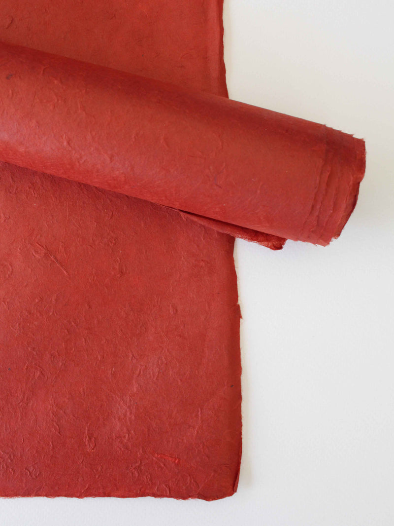 Nepalese Lokta Rusty Red - Liberties Papers
