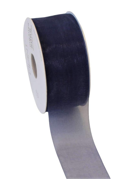 Organza Ribbon Navy Blue - Liberties Papers