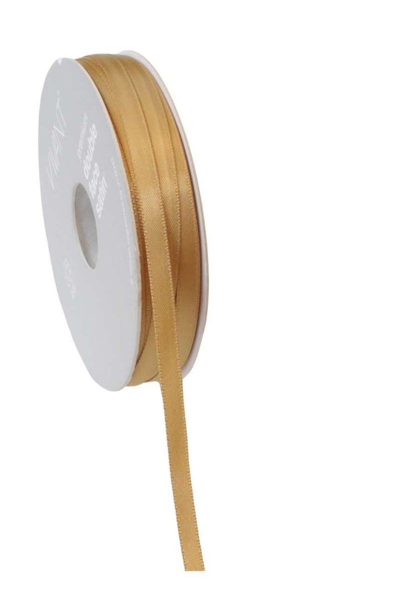 Satin Ribbon 6mm Gold - Liberties Papers