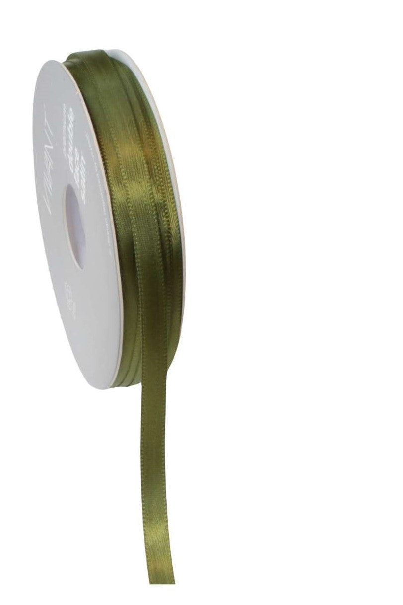 Satin Ribbon 6mm Green - Liberties Papers