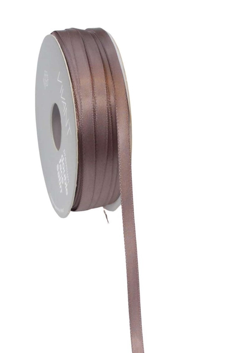 Satin Ribbon 6mm Mauve - Liberties Papers
