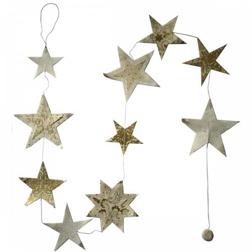 Hanging Garland Christmas Stars - Liberties Papers