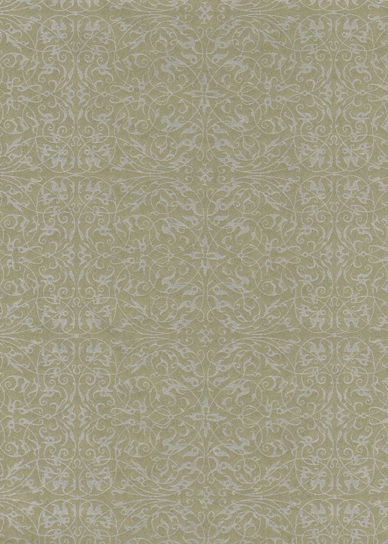 Pearlised Filigree Taupe - Liberties Papers