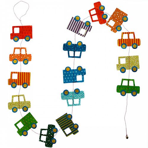 Hanging Garland Trucks and Cars - Liberties Papers