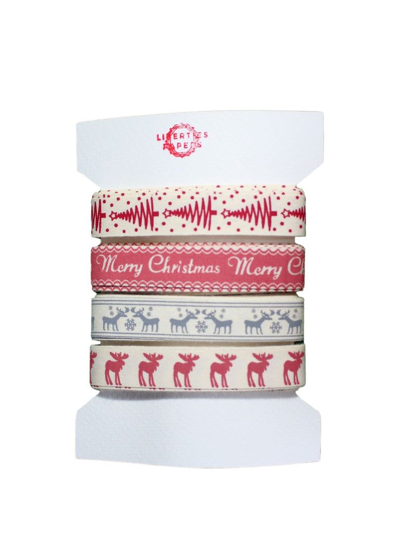 Christmas Ribbon Bundle - Liberties Papers