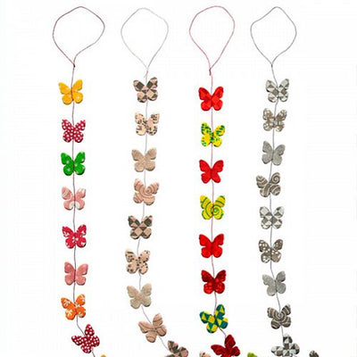 Hanging Garland Small Butterflies - Liberties Papers