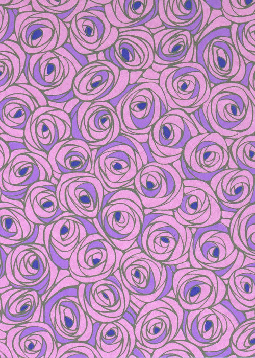 Chiyogami Lilac Roses - Liberties Papers
