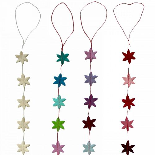 Hanging Garland Small Christmas Stars - Liberties Papers