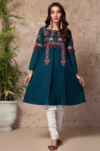 BERRY FROST (EMBROIDERED FROCK) (2-5 weeks delivery)