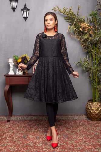 Black Net Frock (2-5 weeks delivery)