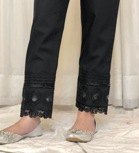 Cotton Embroidered Trouser (immediate dispatch)