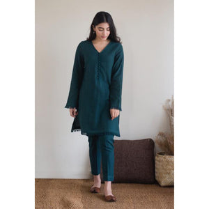 BOTTLE GREEN OUTFIT (2-6 weeks delivery)