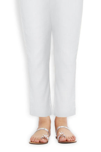 Sana Safinaz Off White Pants