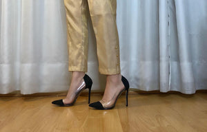 Raw Silk Cream Trouser