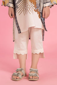 Kids White Trouser